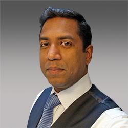 Suresh Durairaj headshot